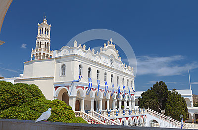 The Madonna church at Tinos island