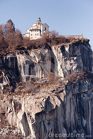 Madonna del Sasso, famous italian landmark