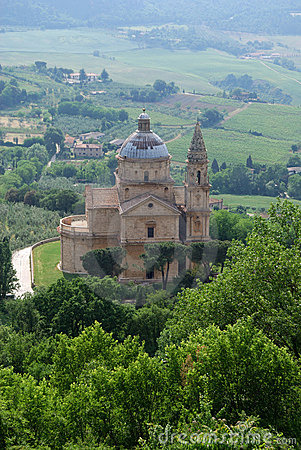Madonna di San Biagio in Montepulciano