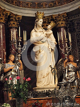 Free Madonna Of Trapani, Trapani, Sicily, Italy Royalty Free Stock Photo - 45761325