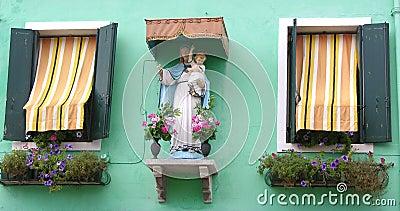 Madonna window