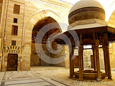 Madrasah Mausoleum and Mosque, Qalawun Complex, Cairo