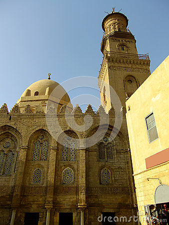 Madrasah陵墓和清真寺, Qalawun复合体,开罗