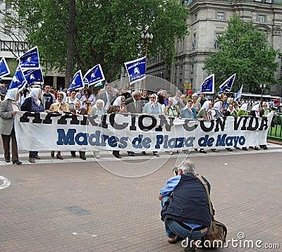 Madres de Plaza de Mayo Editorial Stock Image