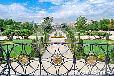 Madrid, The Buen Retiro Park