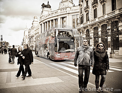 Madrid City Tour Editorial Photo