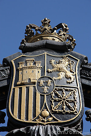 madrid coat of arms royalty free stock images image
