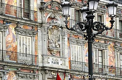 Madrid - de Burgemeester van het Plein