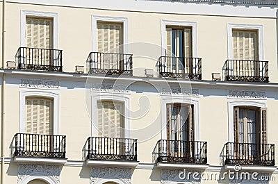 Madrid facade