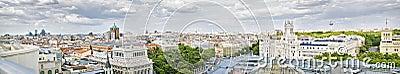 Madrid panoramical view