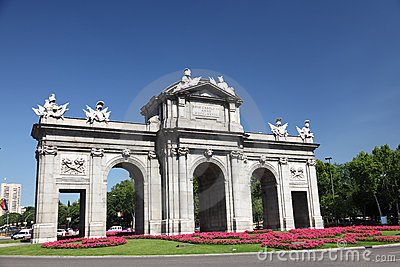 Madrid Puerta de Alaca