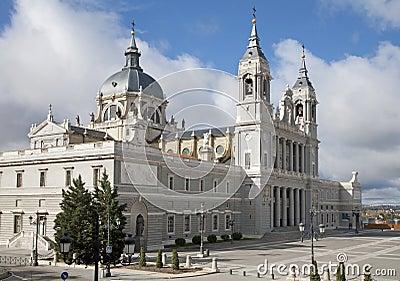 Madrid  - Santa Maria la Real de La Almudena cathedral