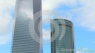Madrid-Türme stock video