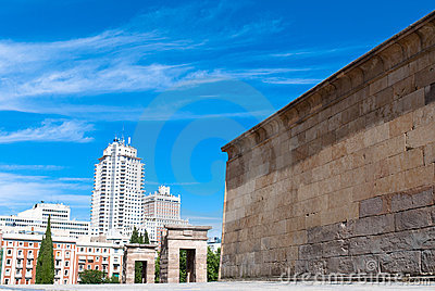 Madrid, The Temple of Debod