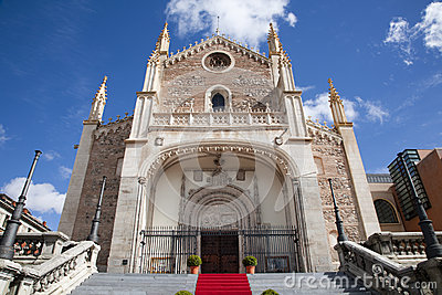 Madrid - gothic church San Jeronimo el Real