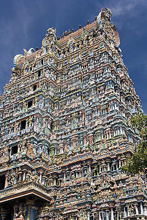 Madurai - Minakshi Sundareshvera Temple - India