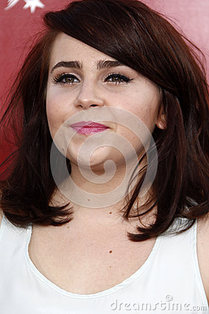 Mae Whitman Editorial Stock Photo