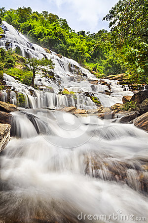 Mae Ya waterfall in Doi Inthanon