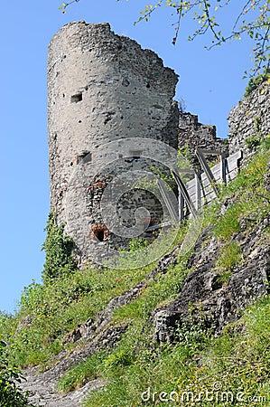 Maegdeburg Castle Ruin