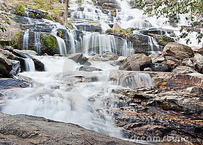 Maeya water fall in Thailand