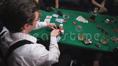 Mafia Playing Poker At The Table Stock Video Video Of Play Bluff 145782769