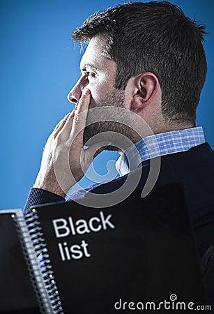 Mafioso with black list