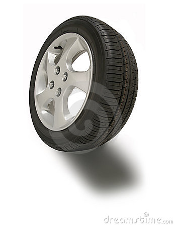 Free Mag Wheel Tire Tyre Royalty Free Stock Photo - 9439395