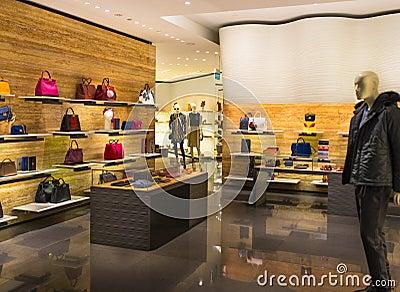 magasin de sac images stock image 35829214. Black Bedroom Furniture Sets. Home Design Ideas