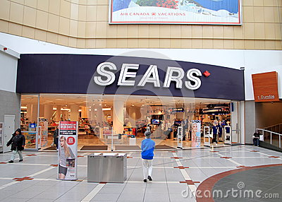 Magasin de Sears Photographie éditorial