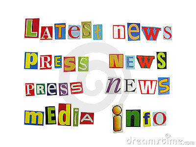 Magazine Letters Stock Photos - Image: 2508173