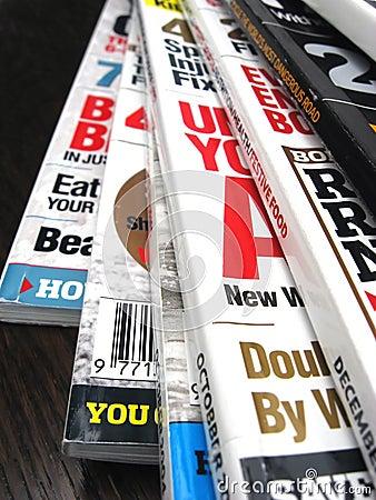 Free Magazines Royalty Free Stock Image - 3246966