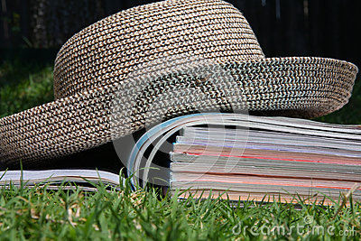 Magazines outside