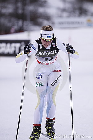 Magdalena Pajala - swedish cross country skier Editorial Image