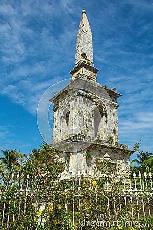 Magellan monument at Philippines islands