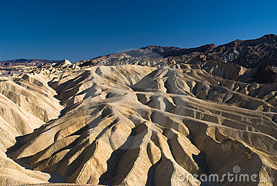 Magestic Golden Canyon in Death Valley