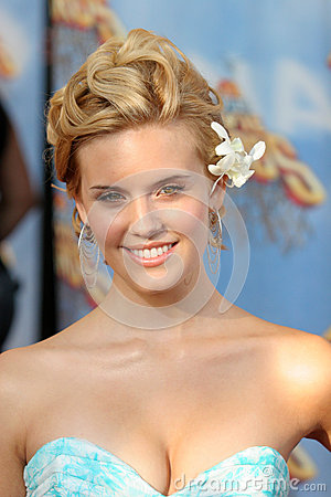 Maggie Grace Editorial Stock Photo