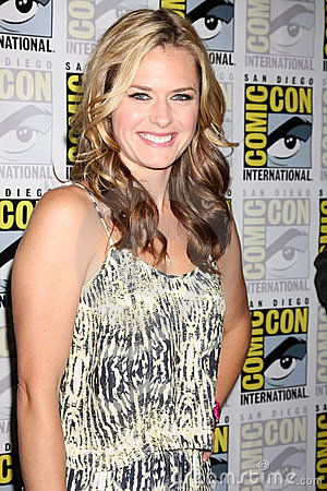 Maggie Lawson Editorial Stock Photo