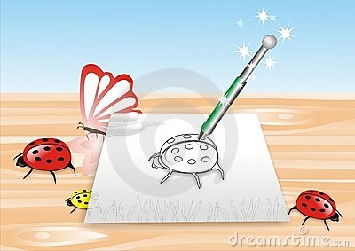 Magia ołówek
