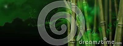 Magic bamboo grove