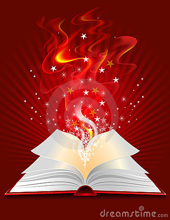 Free Magic Book Royalty Free Stock Photos - 16215938