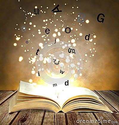 Free Magic Book Stock Images - 38198244