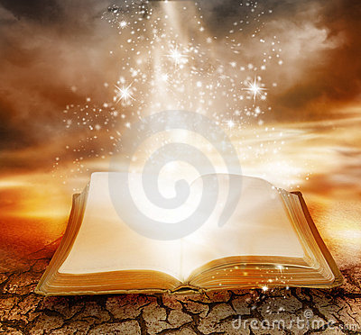 Magic Book Stock Photos - Image: 8075293