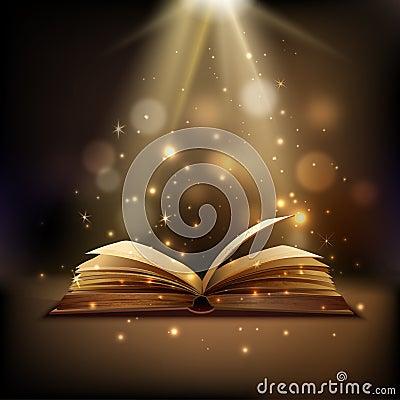 Free Magic Book Background Stock Photo - 57213620