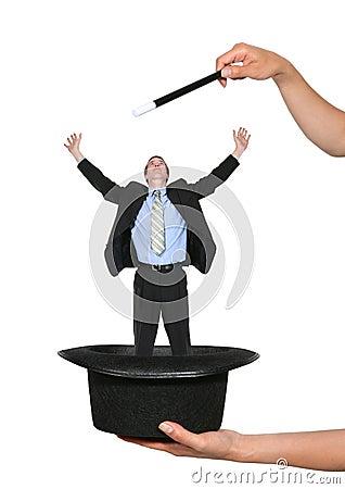 Free Magic Business Man Stock Photos - 2283553