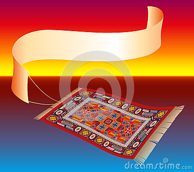 Magic Carpet with Banner