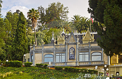 The Magic Castle in Hollywood, California Editorial Photo