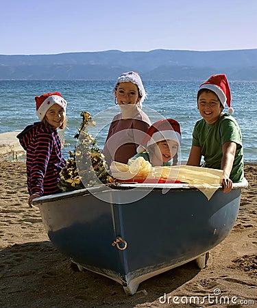 Magic Christmas on board