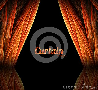 Magic curtain