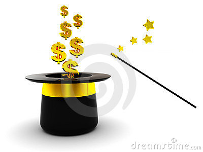 Magic dollars