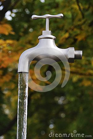 Free Magic Faucet Royalty Free Stock Images - 28398449